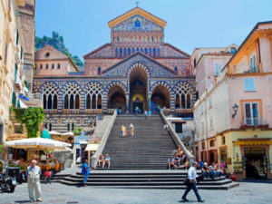 Vespa tour langs de Costiera Amalfitana!