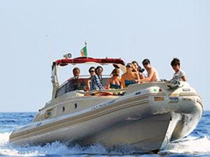 Speedboot sorrentijnse schiereilanden
