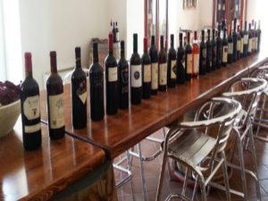 Wijn en olijven